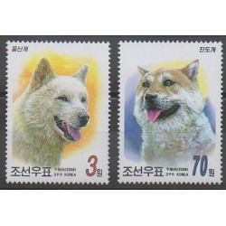 North Korea - 2006 - Nb 3501/3502 - Dogs