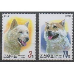 Corée du Nord - 2006 - No 3501/3502 - Chiens
