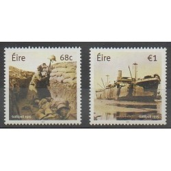 Irlande - 2015 - No 2128/2129 - Première Guerre Mondiale