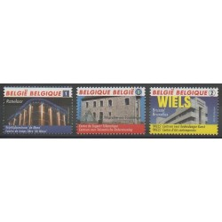 Belgium - 2010 - Nb 4042/4044 - Monuments