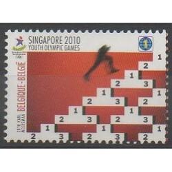 Belgique - 2010 - No 4024 - Jeux Olympiques d'été