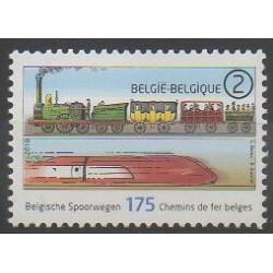 Belgium - 2010 - Nb 4017 - Trains