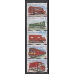 Belgique - 2010 - No 4037/4041 - Service postal - Transports