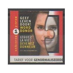 Belgique - 2010 - No 3972 - Santé ou Croix-Rouge