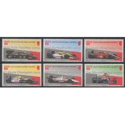 Jersey - 2013 - Nb 1854/1859 - Cars