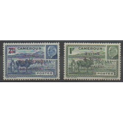 Cameroon - 1944 - Nb 263/264 - Mint hinged