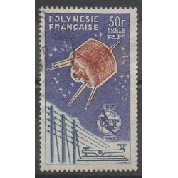 Polynesia - 1965 - Nb PA10 - Telecommunications - Used