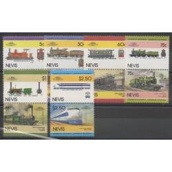 Nevis - 1985 - No 299/310 - Chemins de fer
