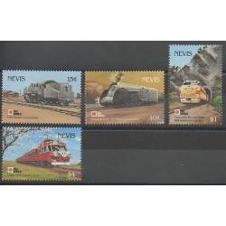 Nevis - 1991 - No 601/604 - Chemins de fer