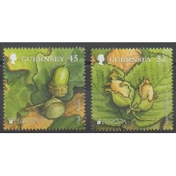 Guernesey - 2011 - No 1349/1350 - Fruits - Europa