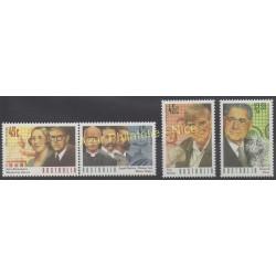 Australie - 1995 - No 1462/1465 - Célébrités