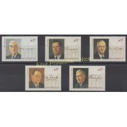 Australie - 1994 - No 1379/1383 - Célébrités