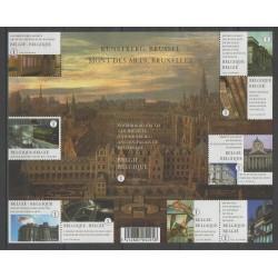 Belgium - 2009 - Nb 3921/3930 - Monuments