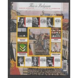 Belgique - 2009 - No 3951/3960 - Littérature