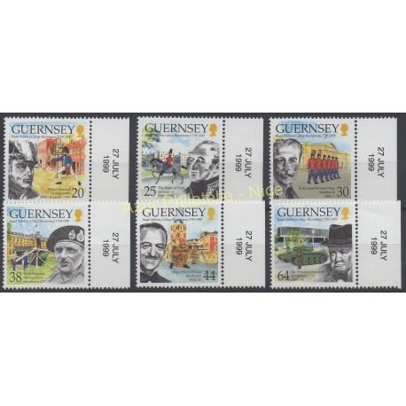 Guernesey - 1999 - No 837/842 - Célébrités
