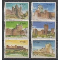 Portugal - 1986 - No 1657/1658 - 1665/1666 - 1676/1677 - Châteaux
