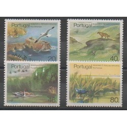 Portugal - 1985 - No 1646/1649 - Oiseaux