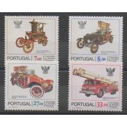 Portugal - 1981 - No 1522/1525 - Pompiers