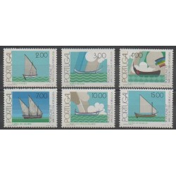 Portugal - 1977 - Nb 1358/1363 - Boats - Philately