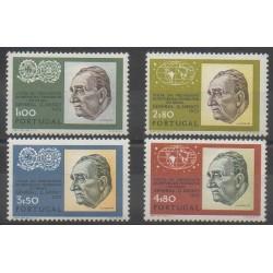 Portugal - 1973 - No 1182/1185 - Célébrités