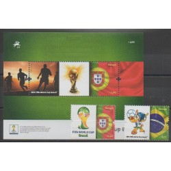 Portugal - 2014 - Nb 3920/3921 - F3922 - Soccer World Cup