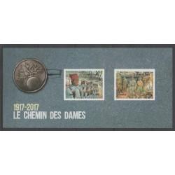 France - Bloc souvenir - 2017 - No BS 132 - Première Guerre Mondiale