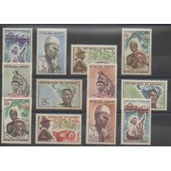 Dahomey - 1963 - No 179/190