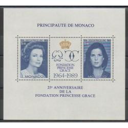 Monaco - Blocks and sheets - 1989 - Nb BF48 - Royalty