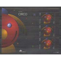 Portugal - 2002 - Nb BF181 - Circus - Europa