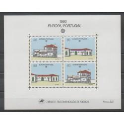 Portugal - 1990 - No BF72 - Service postal - Europa