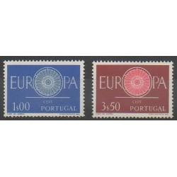 Portugal - 1960 - Nb 879/880 - Europa