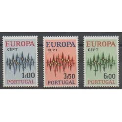 Portugal - 1972 - Nb 1150/1152 - Europa