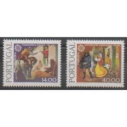 Portugal - 1979 - Nb 1421/1422 - Postal Service - Europa