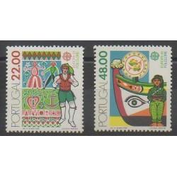 Portugal - 1981 - Nb 1509/1510 - Europa