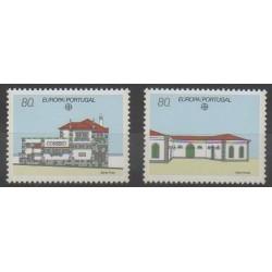 Portugal - 1990 - No 1800/1801 - Service postal - Europa