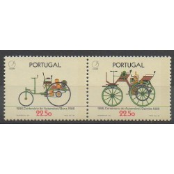 Portugal - 1986 - No 1663/1664 - Voitures