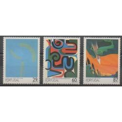 Portugal - 1989 - No 1775/1777 - Peinture