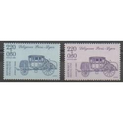 France - Poste - 1989 - No 2577/2578 - Transports