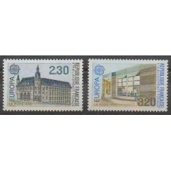 France - Poste - 1990 - No 2642/2643 - Service postal - Europa