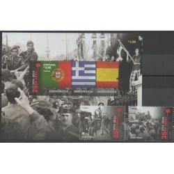 Portugal - 2014 - No 3898/3899 - F3900 - Histoire - Drapeaux