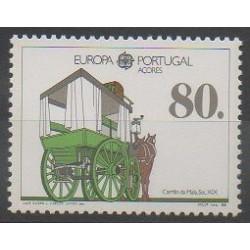 Portugal (Açores) - 1988 - No 379 - Transports - Europa