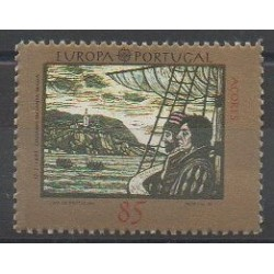 Portugal (Azores) - 1992 - Nb 415 - Christophe Colomb - Europa