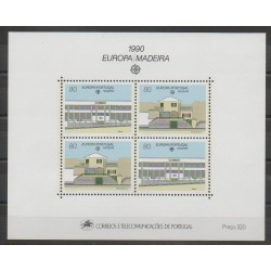 Portugal (Madeira) - 1990 - Nb BF11 - Postal Service - Europa