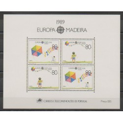 Portugal (Madère) - 1989 - No BF10 - Enfance - Europa