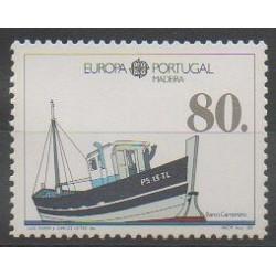 Portugal (Madeira) - 1988 - Nb 123 - Boats - Europa
