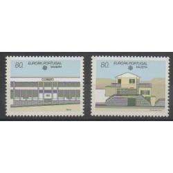 Portugal (Madère) - 1990 - No 140/141 - Service postal - Europa