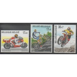 Belgique - 1999 - No 2819/2821 - Motos