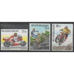 Belgique - 1999 - No 2819/2821 - Motos