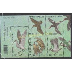 Finland - 1996 - Nb 1318/1322 - Birds