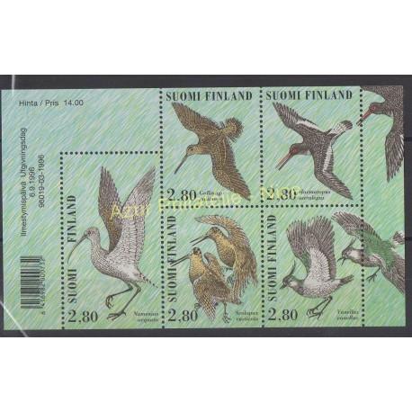 Finlande - 1996 - No 1318/1322 - Oiseaux
